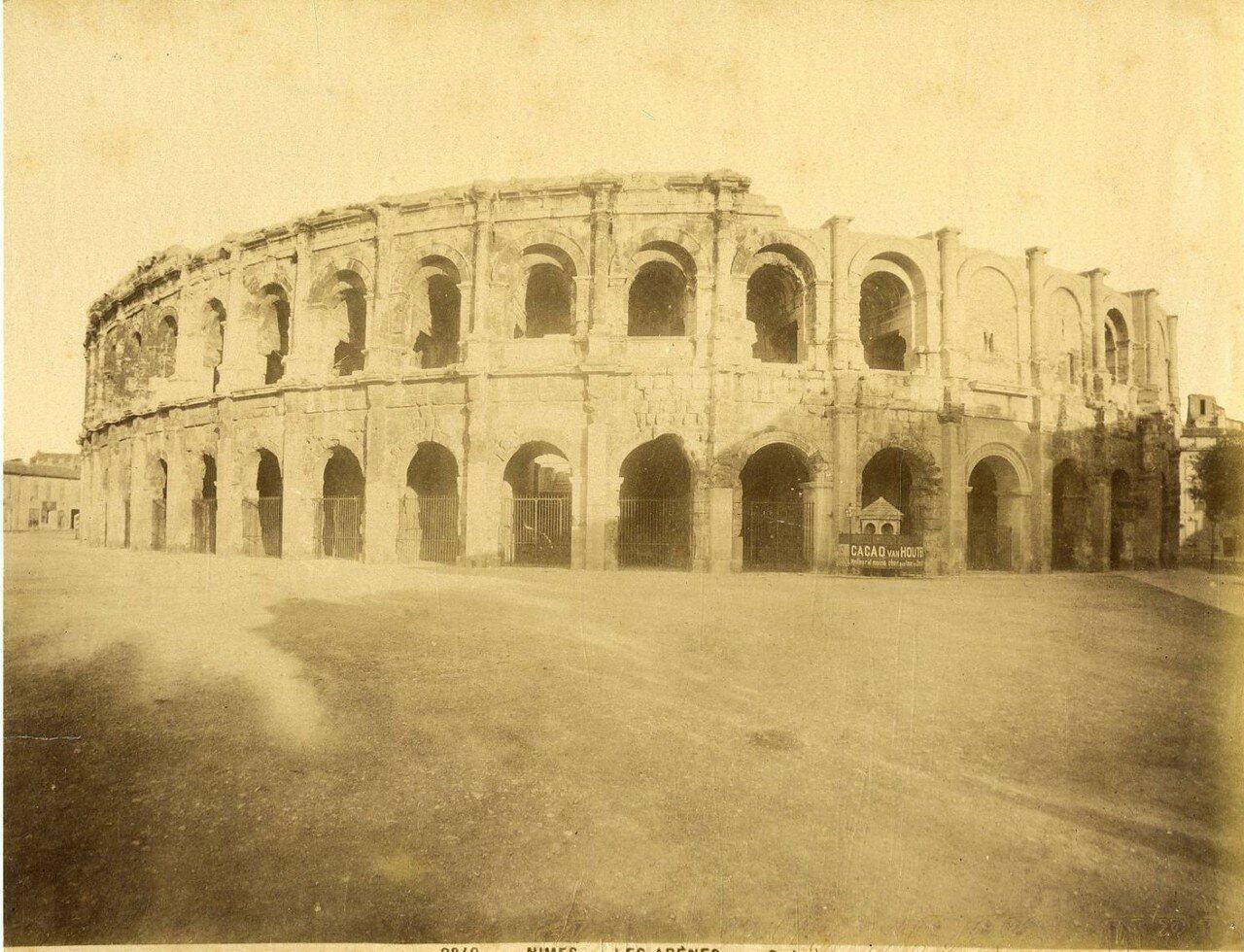 Амфитеатр. Внешний вид. . 1880-е