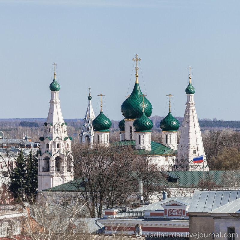 Церковь Ильи Пророка. Ярославль. Золотое Кольцо.