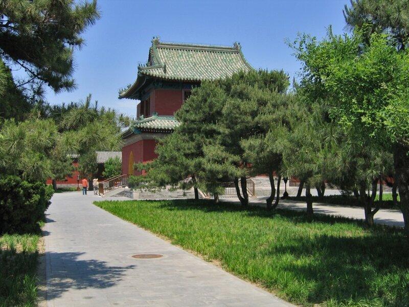 Барабанная башня, Храм Неба, Пекин