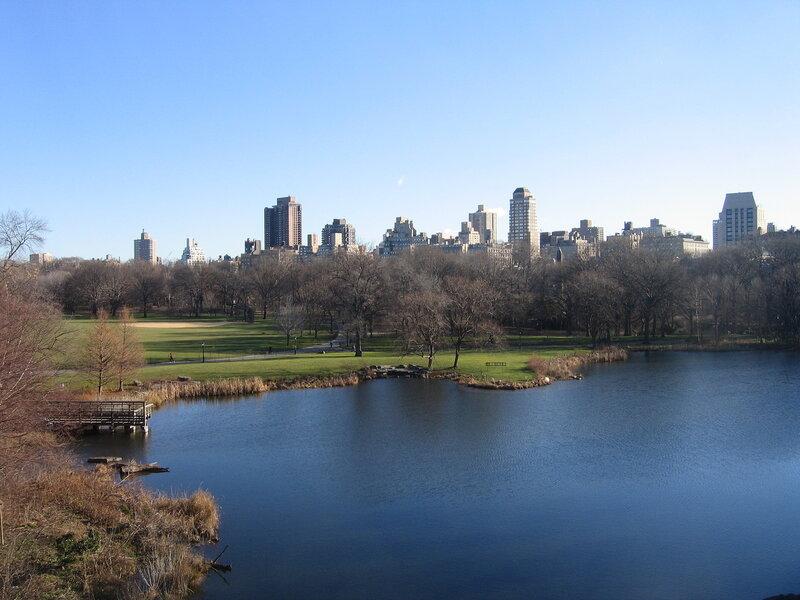 Нью-Йорк. Центральный парк.