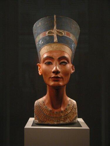 Нефертити...
