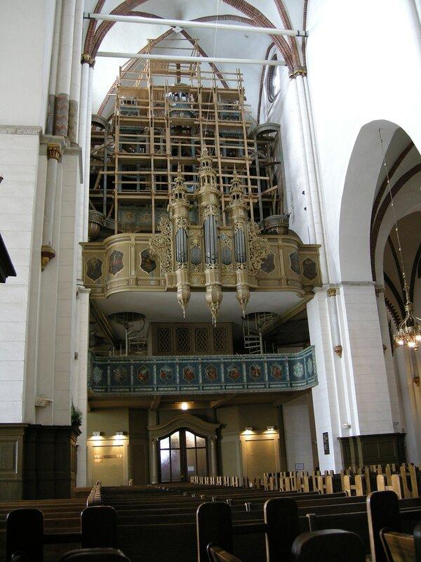 Знаменитый орган Домского собора