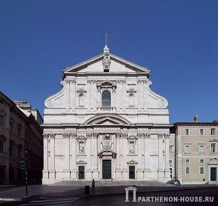 Архитектура барокко в италии
