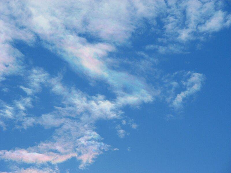 Радужные облака (иридесценция)
