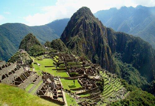 Мачу Пикчу потерянный город инков в горах