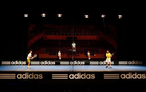 Новак Джокович представил именную линию теннисной экипировки adidas Falcon в Мельбурне