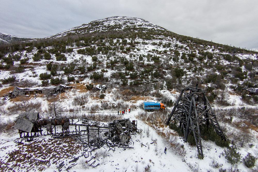 Рудник «Днепровский», Колыма, Магаданская область