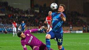 «Монако» вышел в 1/4 финала Лиги чемпионов по футболу