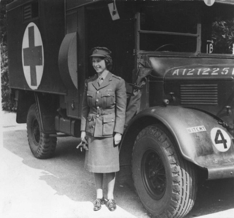 Члены Британской Королевской семьи, участники Второй мировой войны.
