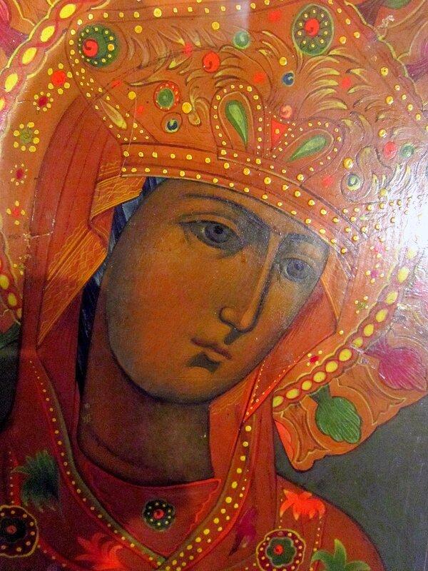 Андрониковская икона Божией Матери. Конец XIX века.