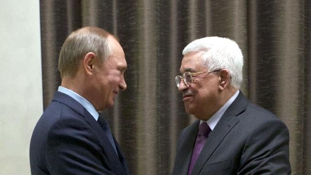 Путин и Аббас обсудили ситуацию на Ближнем Востоке. Ближний Восток Палестина переговоры Путин Сирия