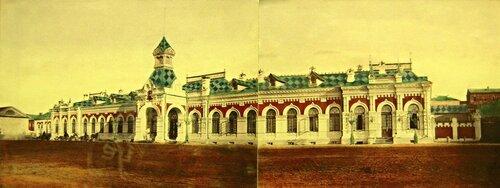 Железнодорожный Вокзал Пермь Первая-начало 20 века