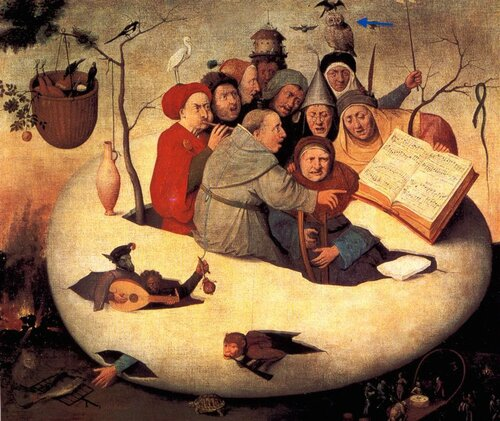 The Concert in the Egg, 1480