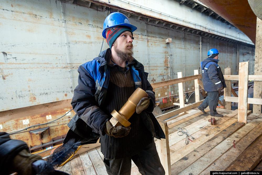 Практически все суда ледокольного флота России оснащены гребными винтами, изготовленными на заводе «