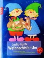 Книга Lustig-bunte Weihnachtsfenster jpg 10,67Мб