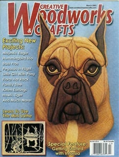 Журнал Журнал Creative Woodworks & Crafts №3 2005
