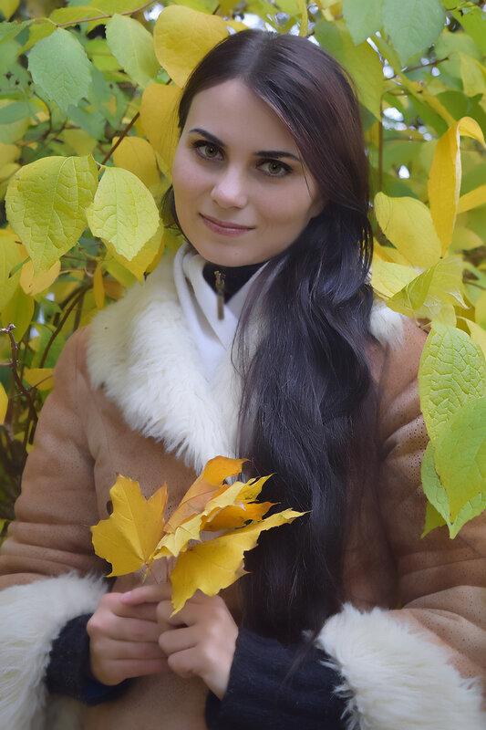 Олия - певица (Осень)