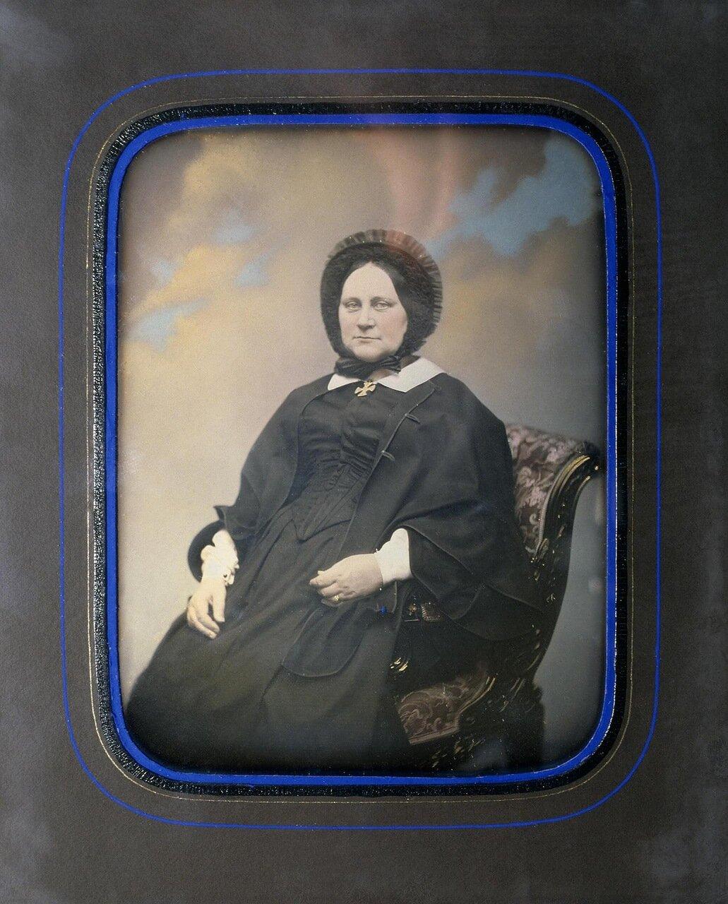 Портрет Марии Трофимовны Пашковой. 1840-е