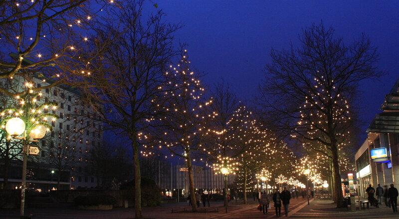 Вольфсбург зажёг свои рождественские огни