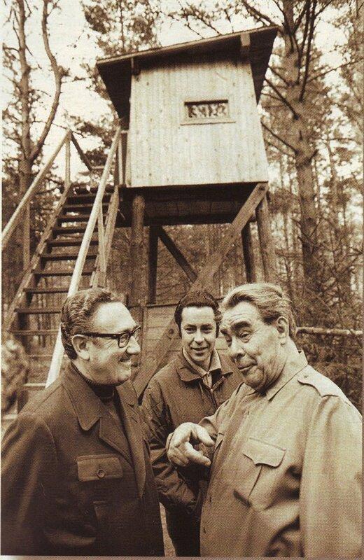 Леонид Брежнев и госсекретарь США Генри Киссинджер перед охотойФото В. Мусаэльяна