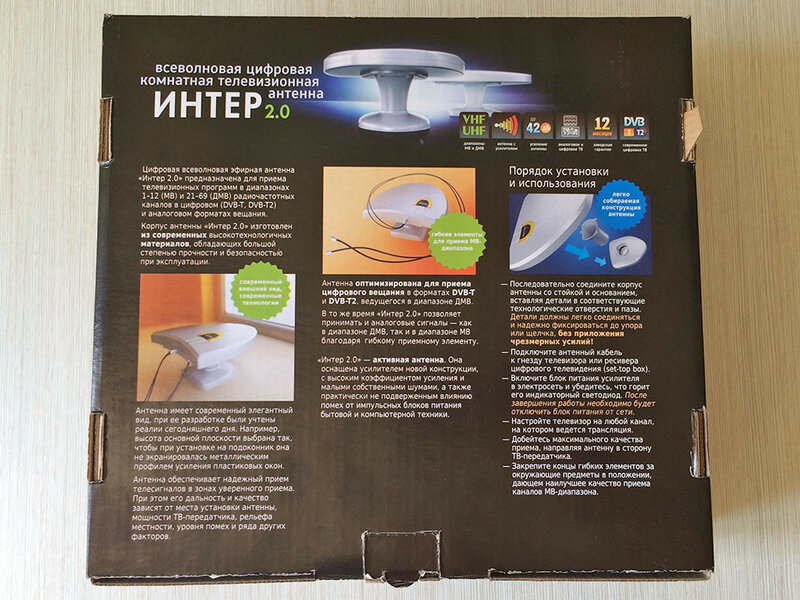 Антенна РЭМО Интер 2.0