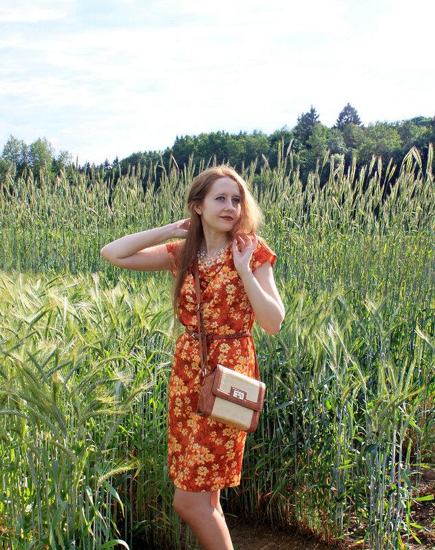 платье - Ostin, сумка - New Yorker