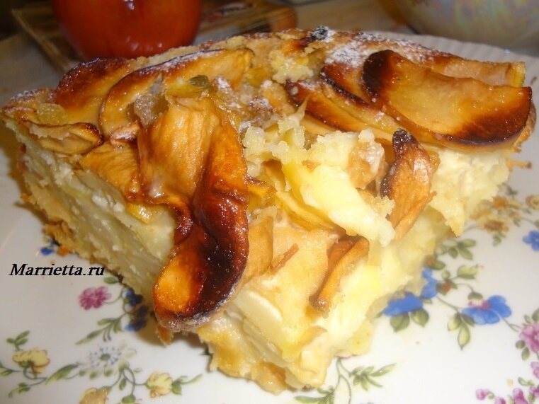 яблочный пирог17