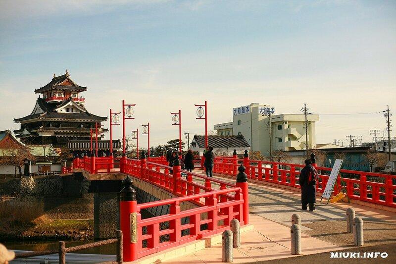 Малоизвестный и очень красивый замок Киёсу в Японии