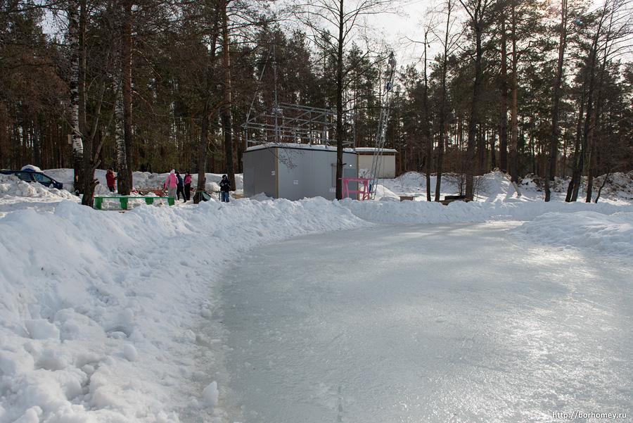 где покататься на коньках в сарове