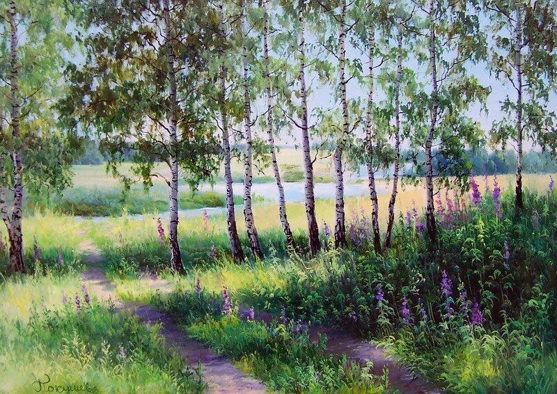 картины Елены Покушевой