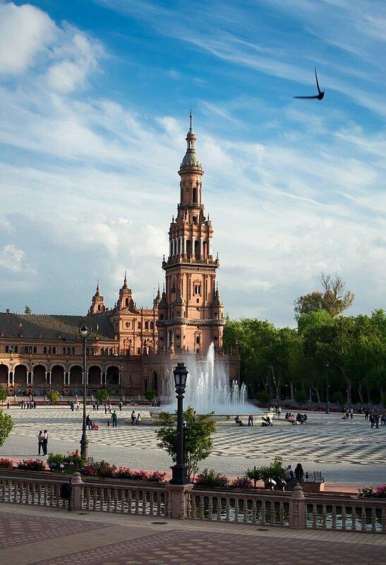 Площадь Испании...Севилья