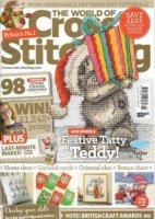 Журнал The World of Cross Stitching №210 2014 jpg 39Мб