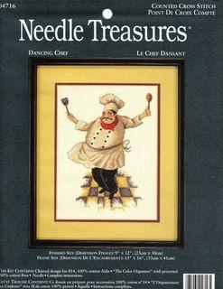 Журнал Needle Treasures 04716 Dancing Chef