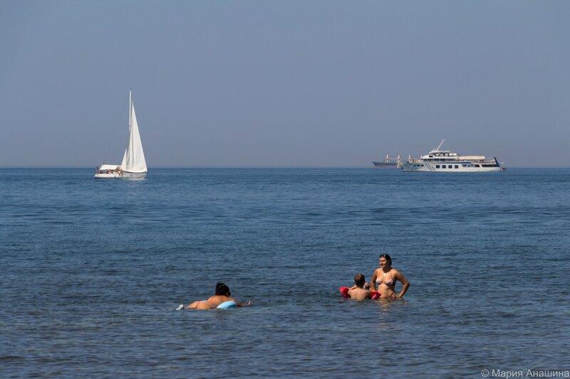Спокойное море, Геленджик,