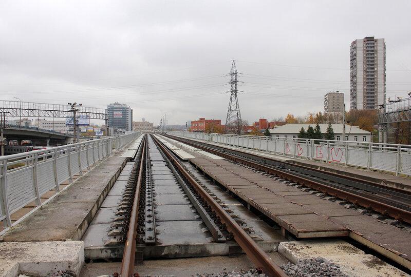 Мост МОЖД над Киевским направлением