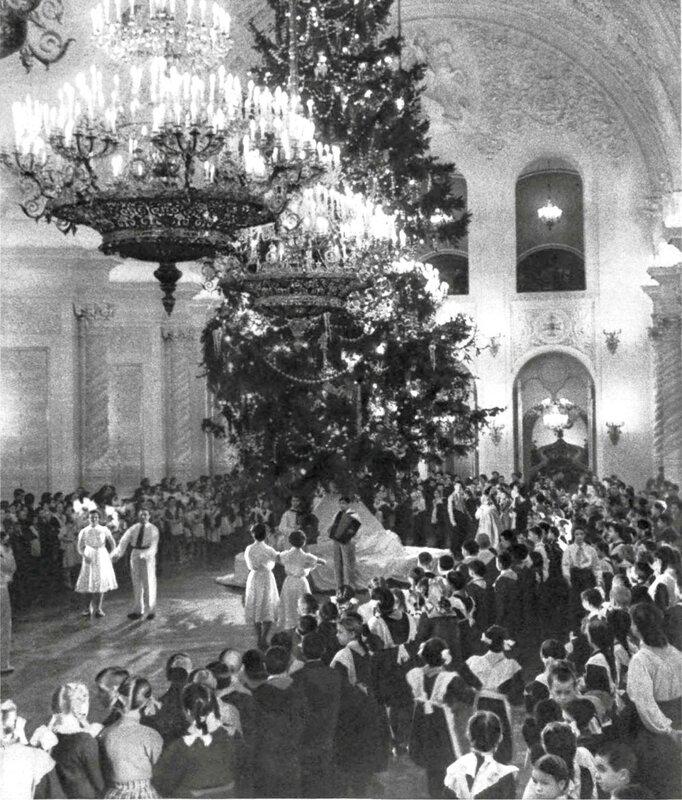 110738 Ёлка в Большом Кремлёвском дворце 1955 С.Фридлянд.jpg