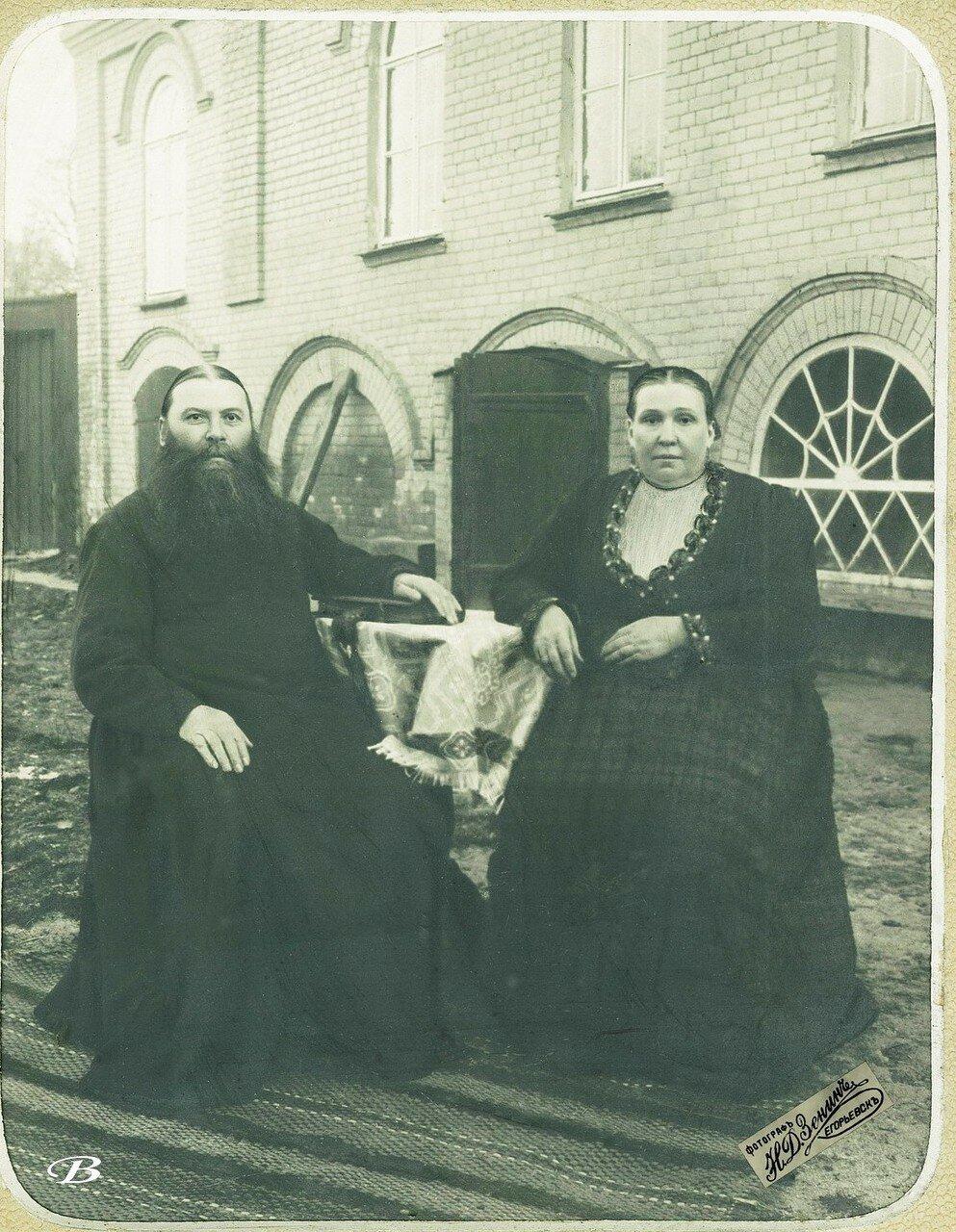 Ефим Павлович и Анна Николаевна Мельниковы.