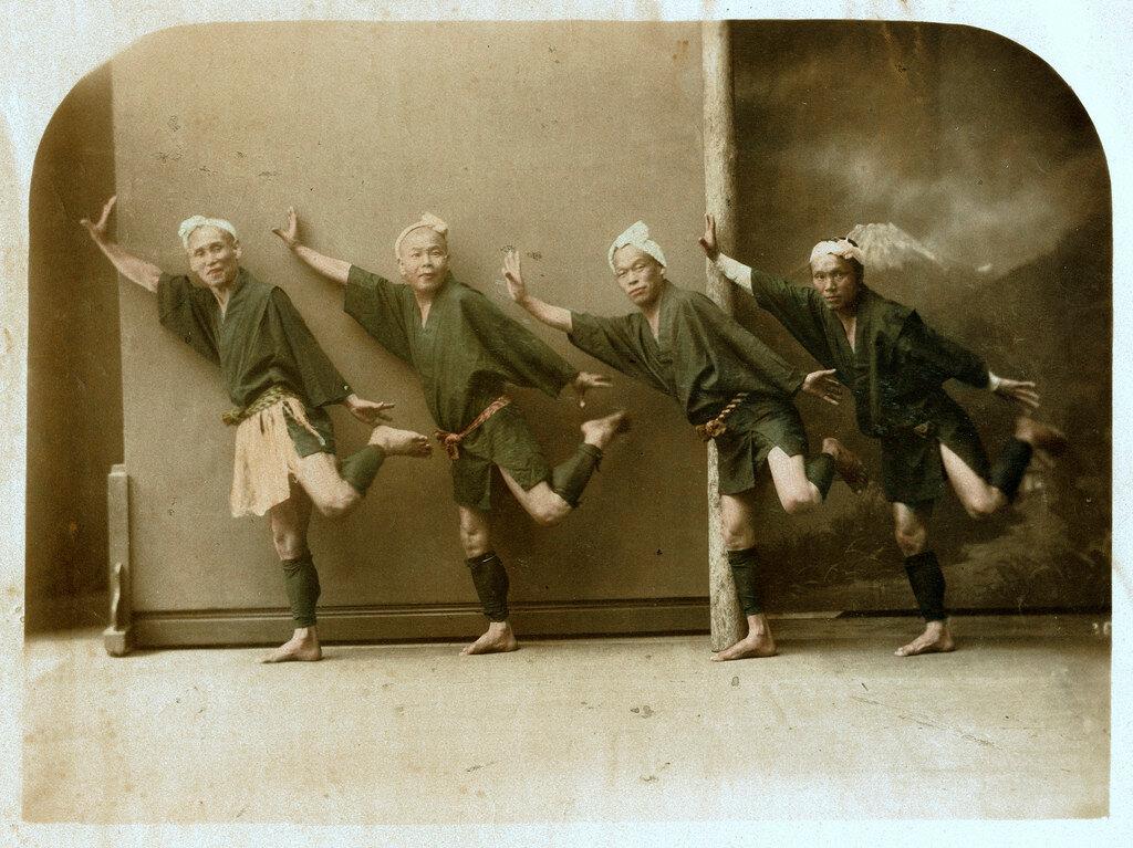Танцоры.1880
