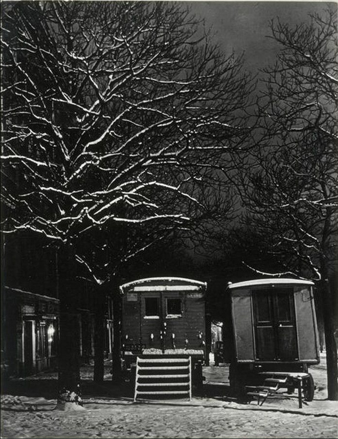 1935-1938. Караваны, Бульвар Араго