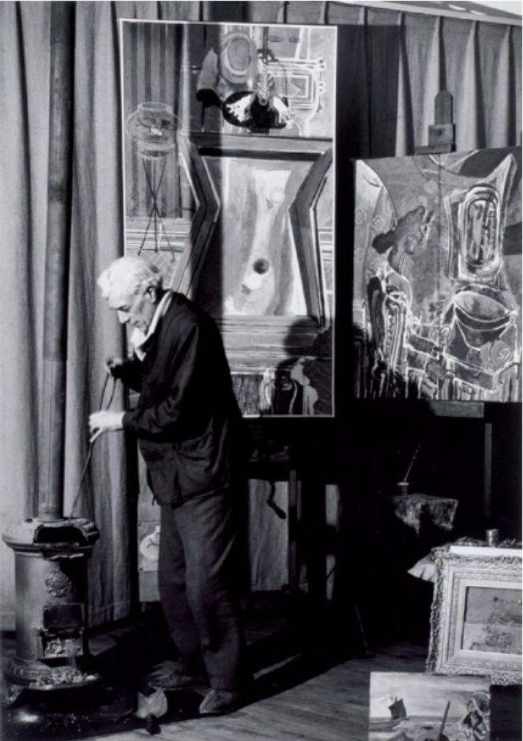 1946. Брак в своей мастерской в Париже