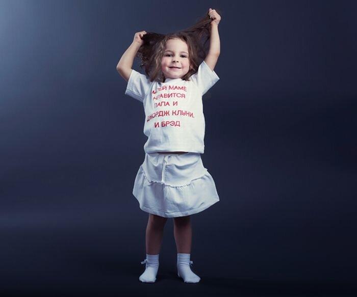 Фотки прикольных детей с надписями