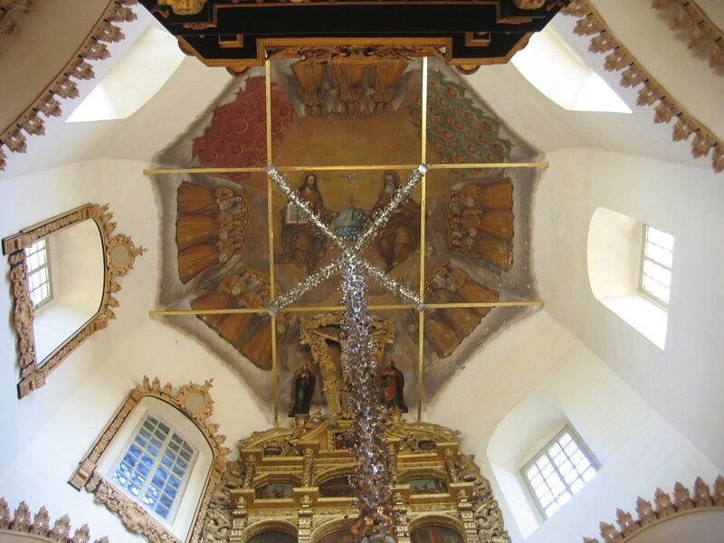 Свод Спасской церкви