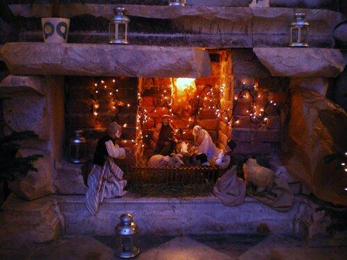 Рождественский вертеп. Костел св. Екатерины