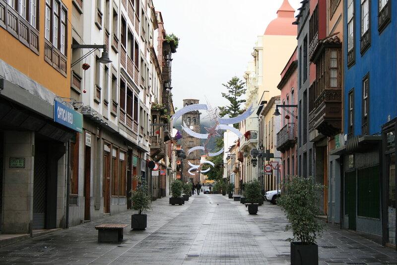 Тенерифе, городок Ла Лагуна