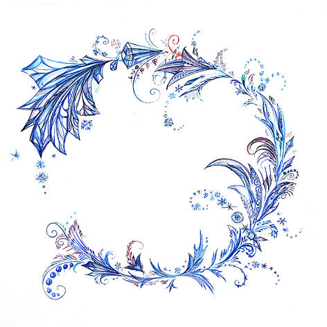 Стихия - вода, время - зима