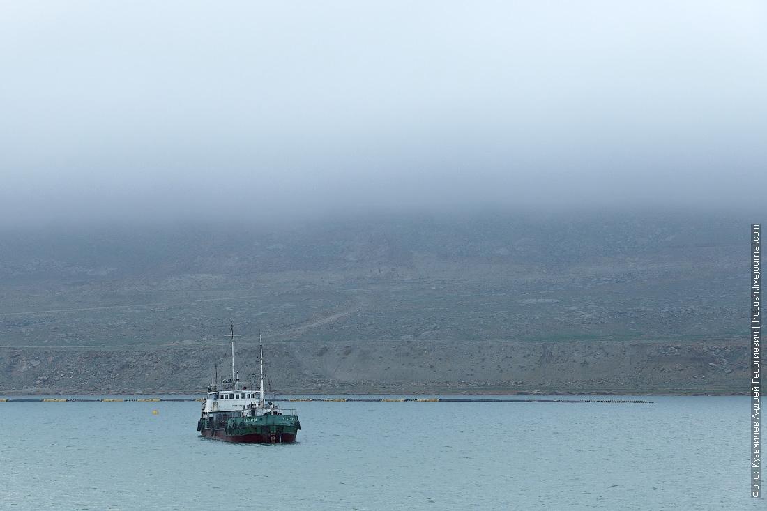 Мангышлак в утреннем тумане