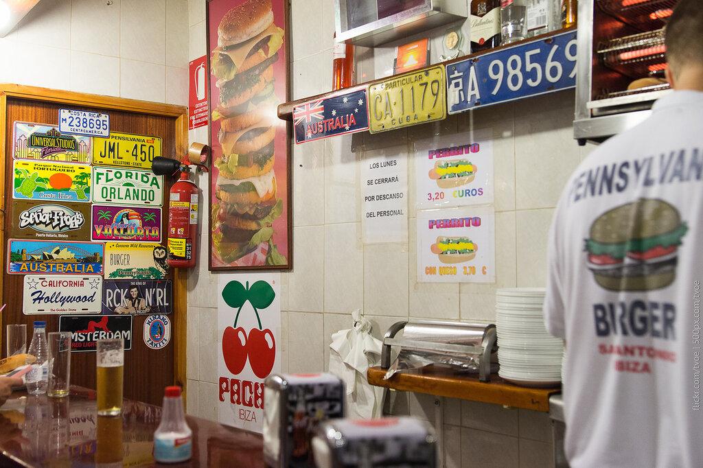 Pennsylvania Burger в Сан-Антонио на Ибице