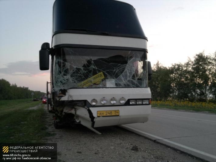 Туристический автобус попал в ДТП в Бурятии пострадали трое