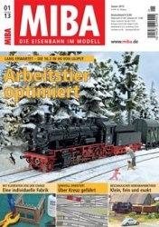 Журнал MIBA Die Eisenbahn im Modell 2013-01
