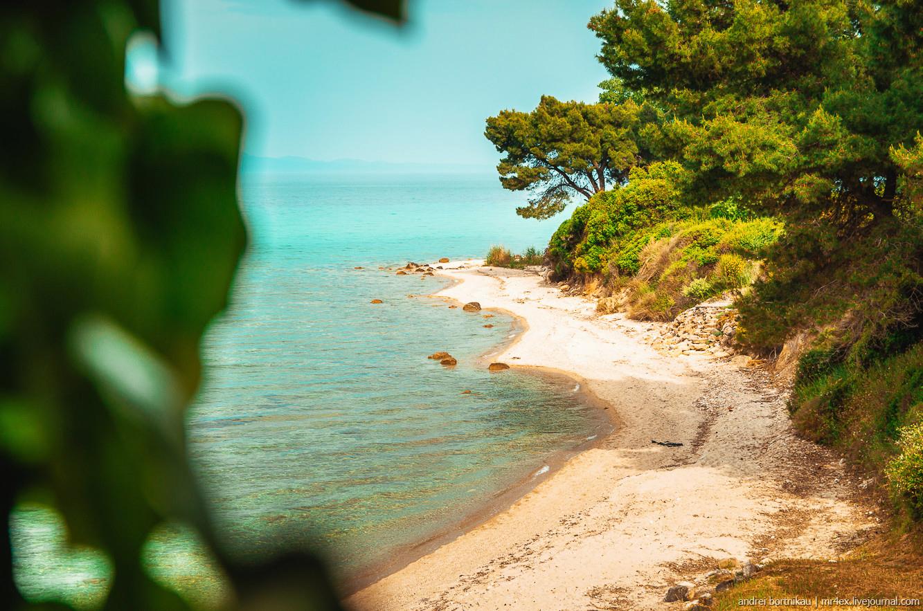 Греция, Халкидики, лучшие пляжи Греции
